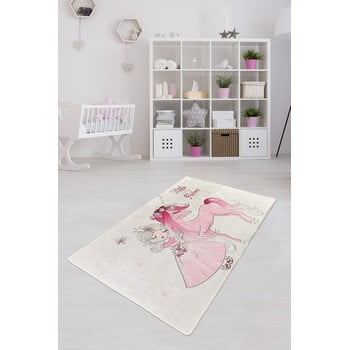 Covor antiderapant pentru copii Chilai Little Princess,100x160cm imagine