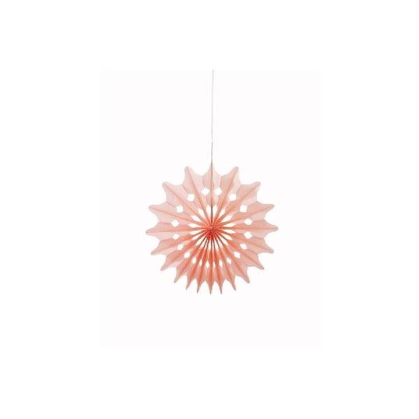 Papírové dekorace Fan Sorbet, 3 kusy