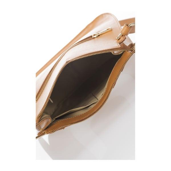 Kožená kabelka Belinda, koňaková