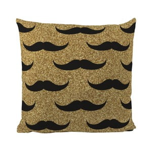 Pernă Black Shake Set of Moustaches 40x40 cm