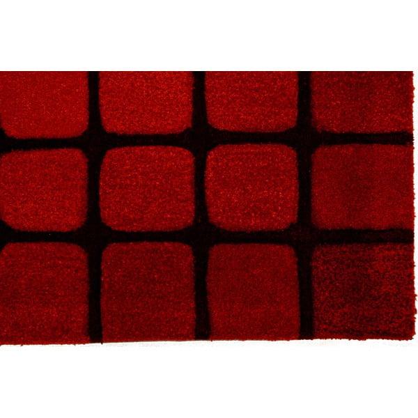 Koberec Casablanca Square 140x200 cm, červený