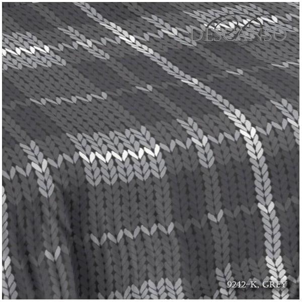 Povlečení Descanso Grey, 200x200 cm