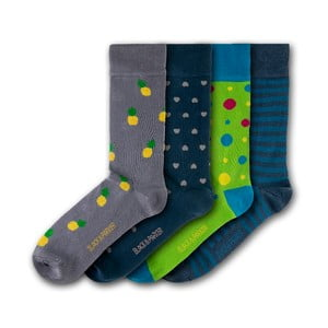 Sada 4 ponožek Black&Parker London Trelissick Garden, velikost 37 – 43