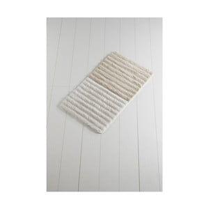 Světle béžová koupelnová předložka Confetti Bathmats Soft Rock, 60 x 100 cm