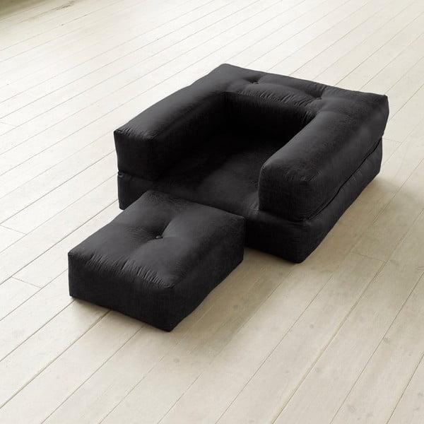 Variabilní křeslo Karup Cube Poly Black