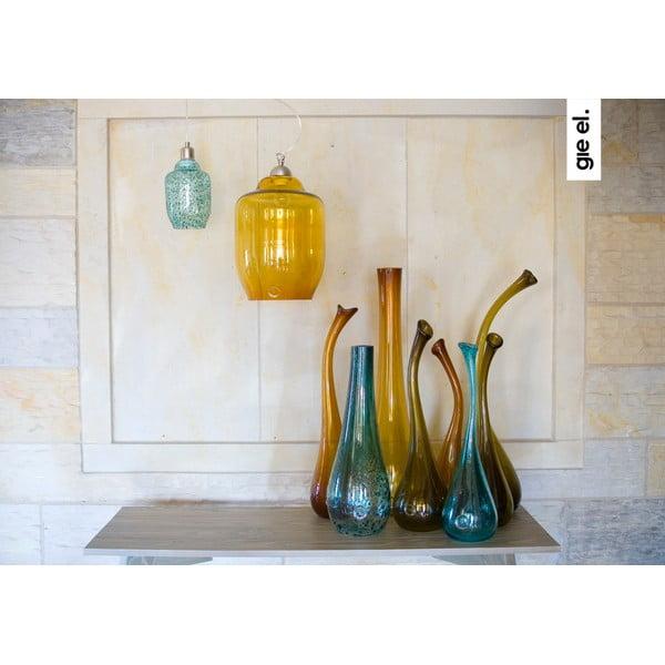 Labutí váza 70-80 cm, medová z kavárny U Kubistů