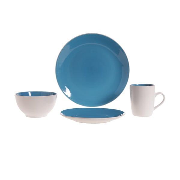 Sada nádobí Lucca Blue, 16 ks