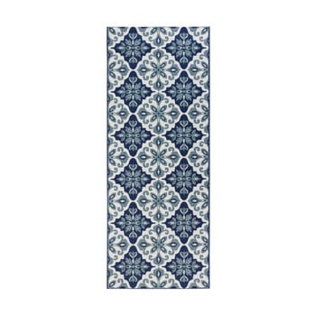 Covor de bucătărie Zala Living Irma, 80 x 200 cm, albastru închis