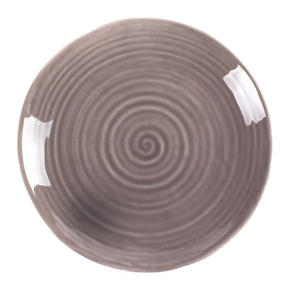 Talíř Earth 27 cm, taupe