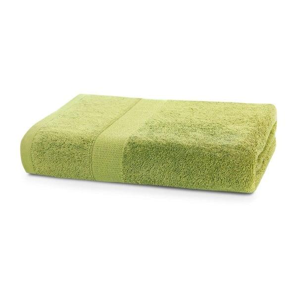 Limetkově zelený ručník DecoKing Marina, 50 x 100 cm