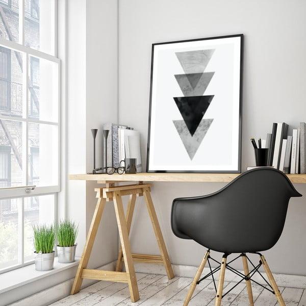 Plakát v dřevěném rámu Cerris, 38x28 cm