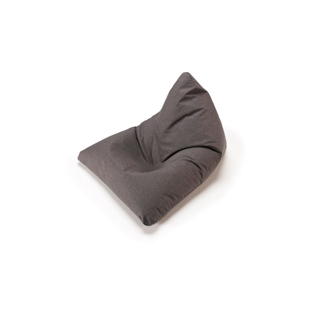 Tmavě šedý sedací vak Innovation Soft Peak Flashtex Dark Grey