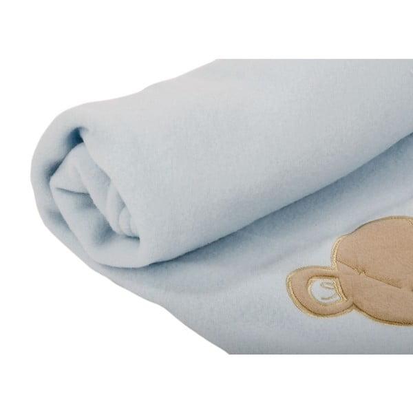 Dětská deka Ourson Bleu, 100x150 cm