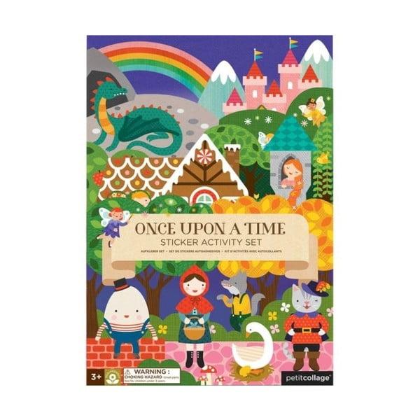 Autocolante reutilizabile Petit collage Fairy Tales
