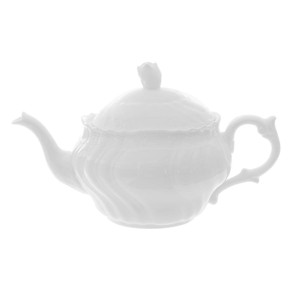 Porcelánová čajová konvice s víkem Kasanova Time