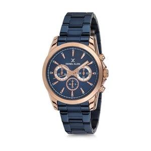 Modré dámské hodinky z nerezové oceli Daniel Klein Watersport
