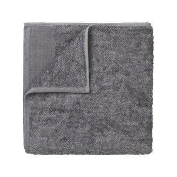 Prosop din bumbac Blomus, 100 x 50 cm, gri închis imagine