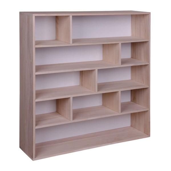 Knihovna ze dřeva pavlovnie House Nordic Pisa