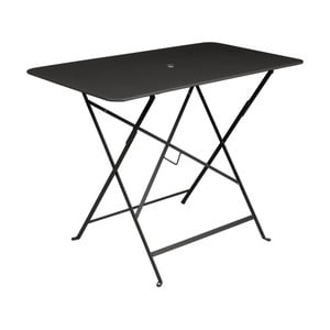 Černý zahradní stolek Fermob Bistro, 97 x 57 cm