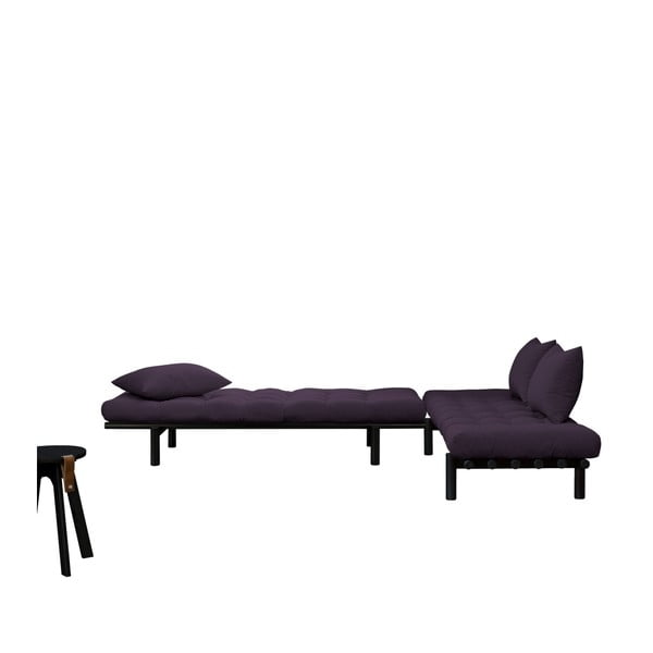 Pohovka Karup Pace Black/Purple