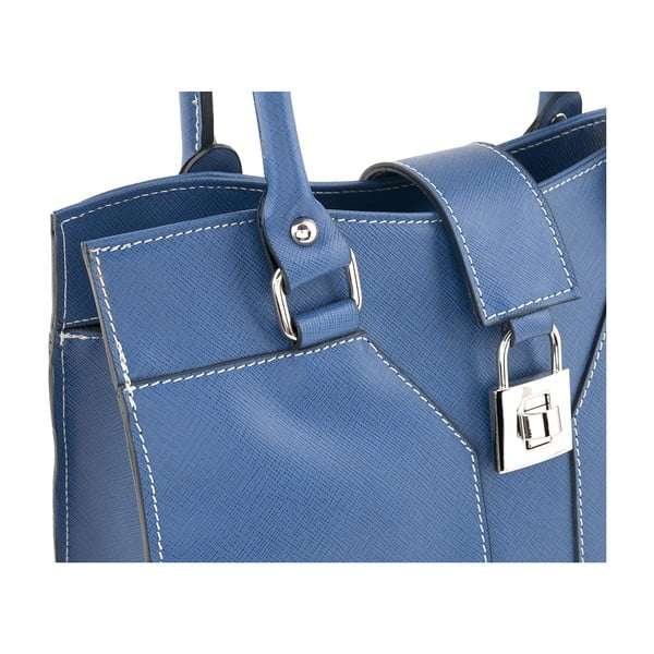 Kožená kabelka Marlene, blue