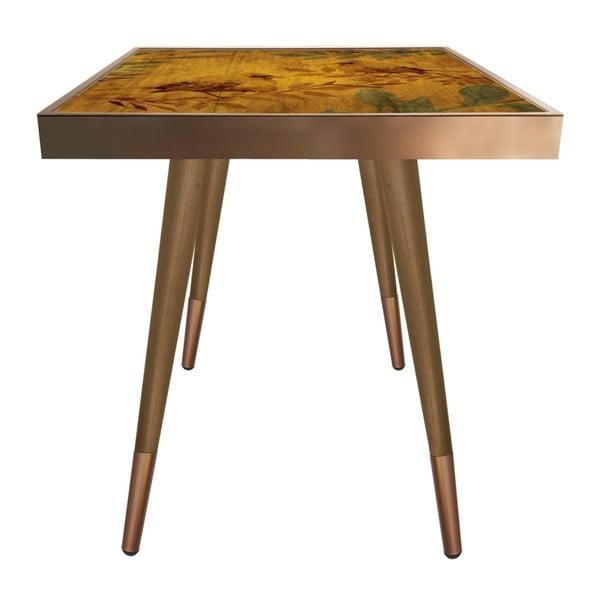 Príručný stolík Caresso Bird Square, 45 × 45 cm