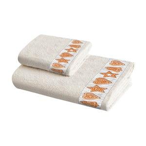 Sada 2 bavlněných ručníků Crido Consulting Gigner Snaps