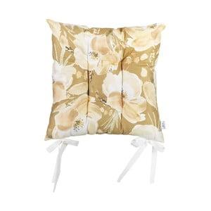 Pernă pentru scaun Apolena Rossie Honey, 37 x 37 cm