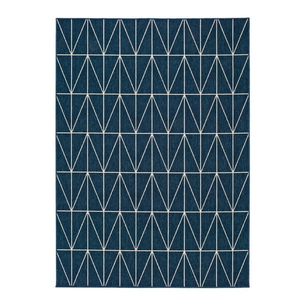 Modrý venkovní koberec Universal Nicol Casseto, 80 x 150 cm