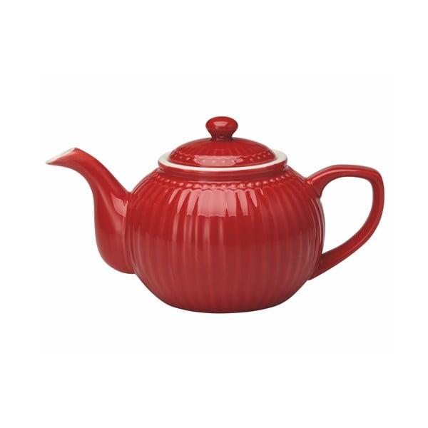 Ceainic din ceramică Green Gate Alice, 1 l, roșu