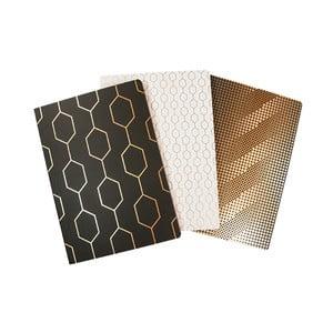 Sada 3 zápisníků B3 Portico Designs Wedgwood, 60stránek