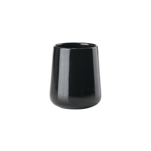Nova Shine fekete fogkefetartó pohár - Zone
