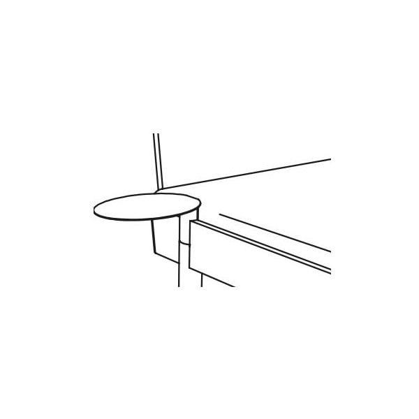 Noční stolek Jitona Mamma, pravá strana