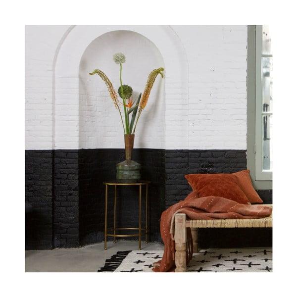 Béžový bavlněný koberec De Eekhoorn More, 140x70cm