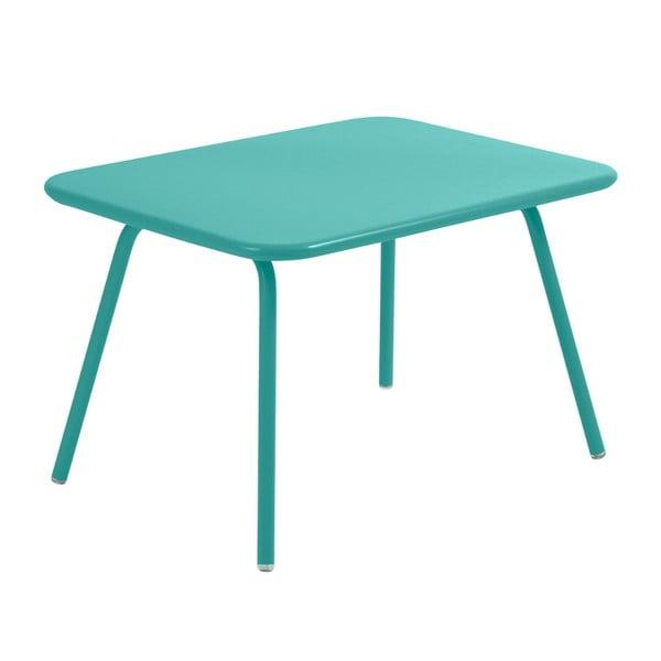 Nebesky modrý dětský stůl Fermob Luxembourg