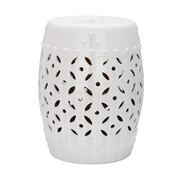 Masă din ceramică Cyprus, alb imagine
