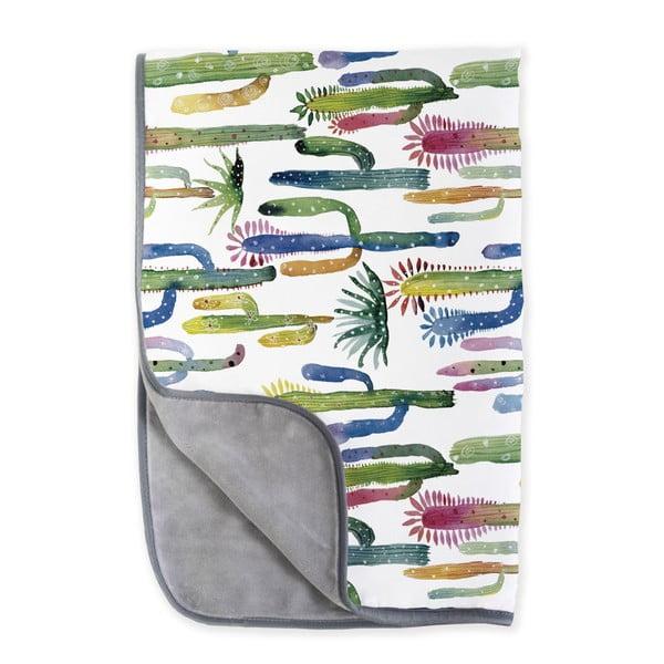 Oboustranná deka z mikrovlákna Surdic Cactus, 130 x 170 cm