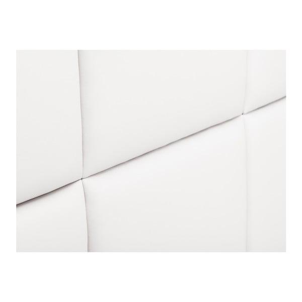 Bílé čalouněné čelo postele THE CLASSIC LIVING Aude, 180x120cm