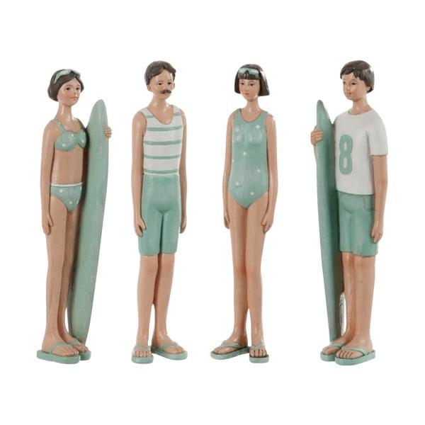 Sada 4 dekorací Kids Swimsuit, 6x4x21 cm