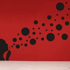 Samolepka na stěnu Bublifuk, pravá strana