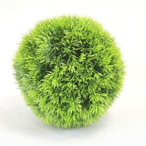 Zelený umělý okrasný keřík Stardeco, 20 cm