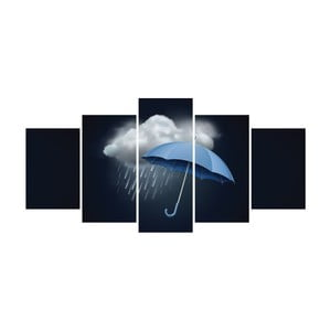 Vícedílný obraz La Maison Des Couleurs Rainy