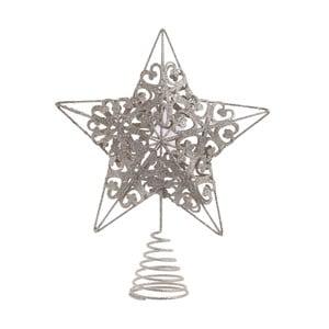 Hvězda na špičku vánočního stromku InArt Christmas