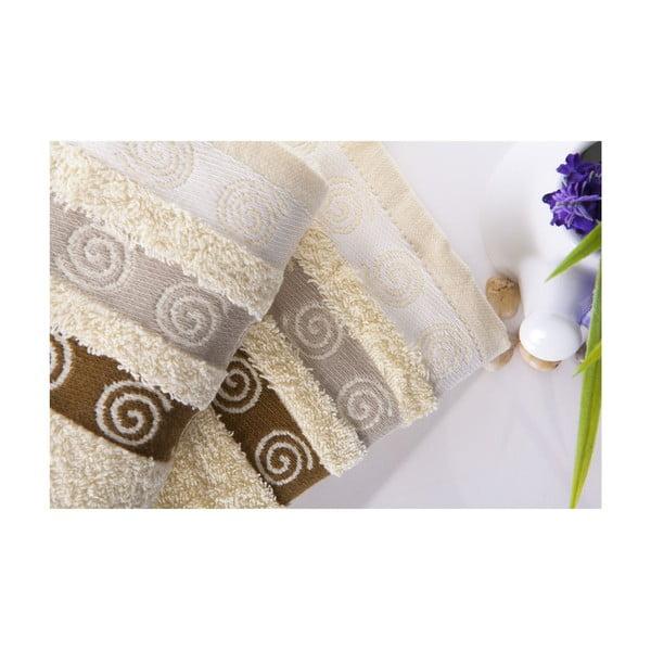 Set dvou ručníků Truva Cream, 50x90 cm