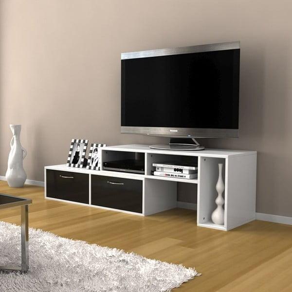 Televizní stolek Barcelona Black