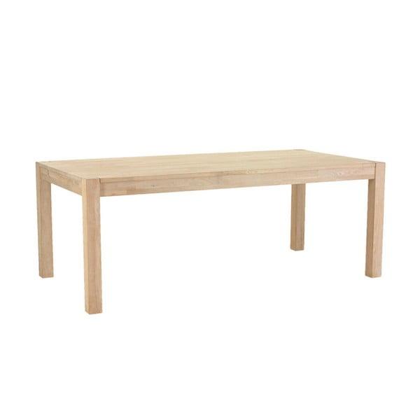 Stół z drewna dębowego Furnhouse Texas, 180x90 cm
