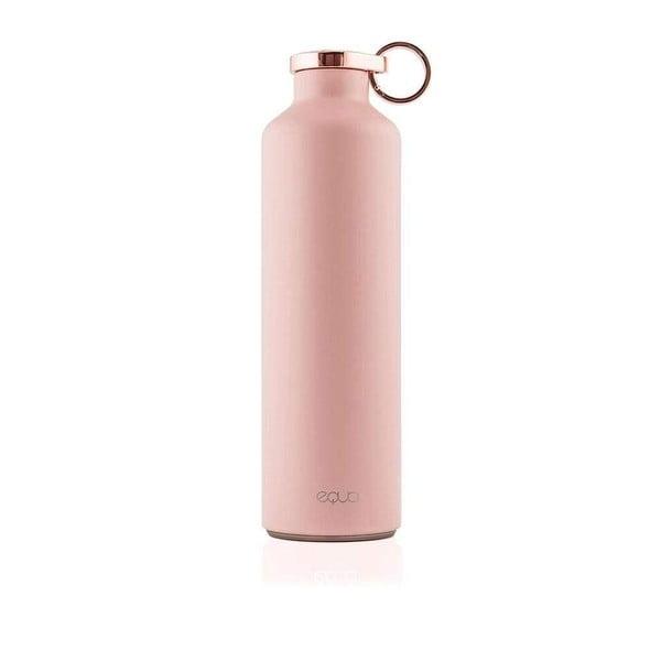 Růžová termolahev z nerezové oceli Equa Basic Pink Blush,680ml