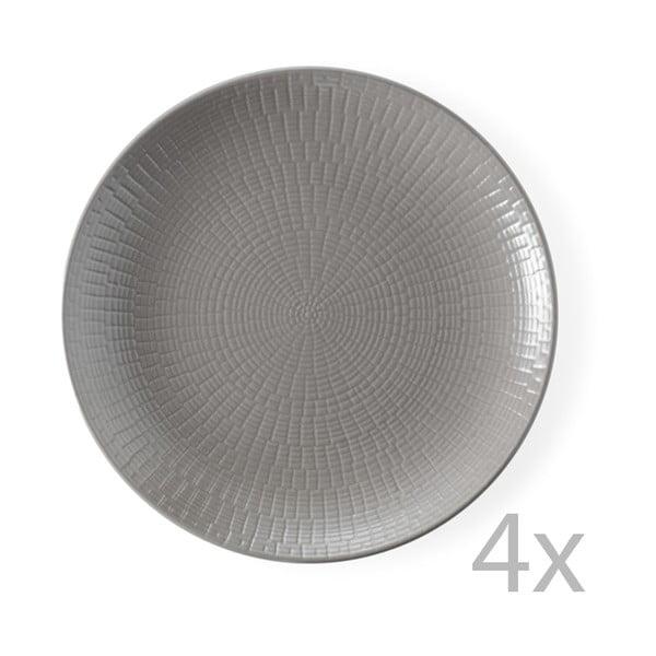 Sada 4 dezertních talířů Brandani Granaglie Tourte, 21 cm