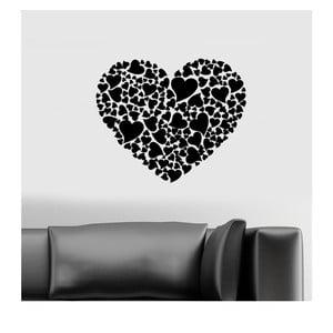 Vinylová samolepka na stěnu Srdce