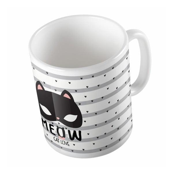 Keramický hrnek Cat Love, 330 ml
